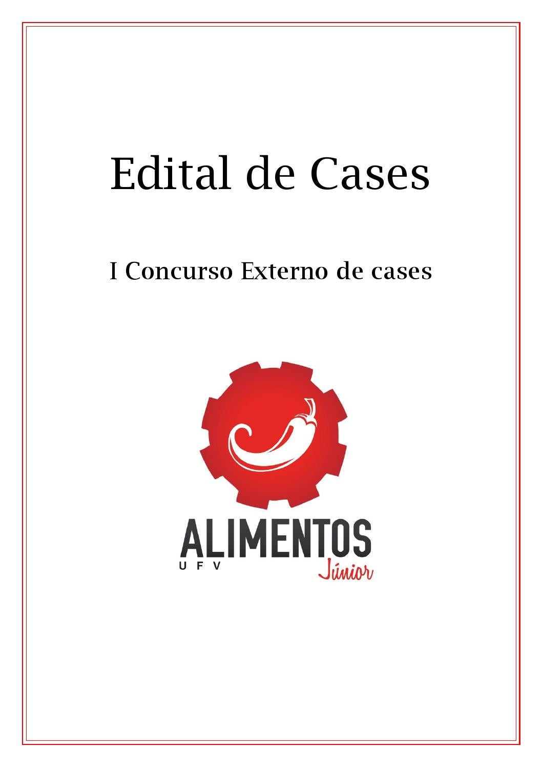 Edital do i concurso externo de cases by cases issuu for Concurso exterior