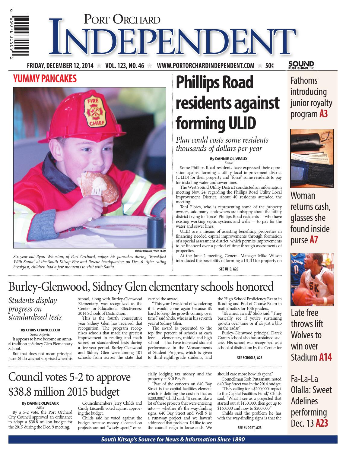 Olympic cycle port orchard - Port Orchard Independent December 12 2014 By Sound Publishing Issuu