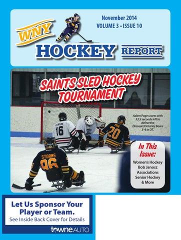 WNY Hockey Report December 2014 by WNY Hockey Report - issuu 4828b6deea90