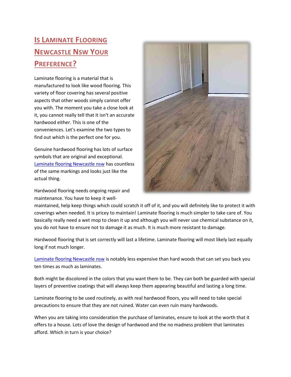 Is Laminate Flooring Newcastle Nsw Your Preference By Lakeside Issuu