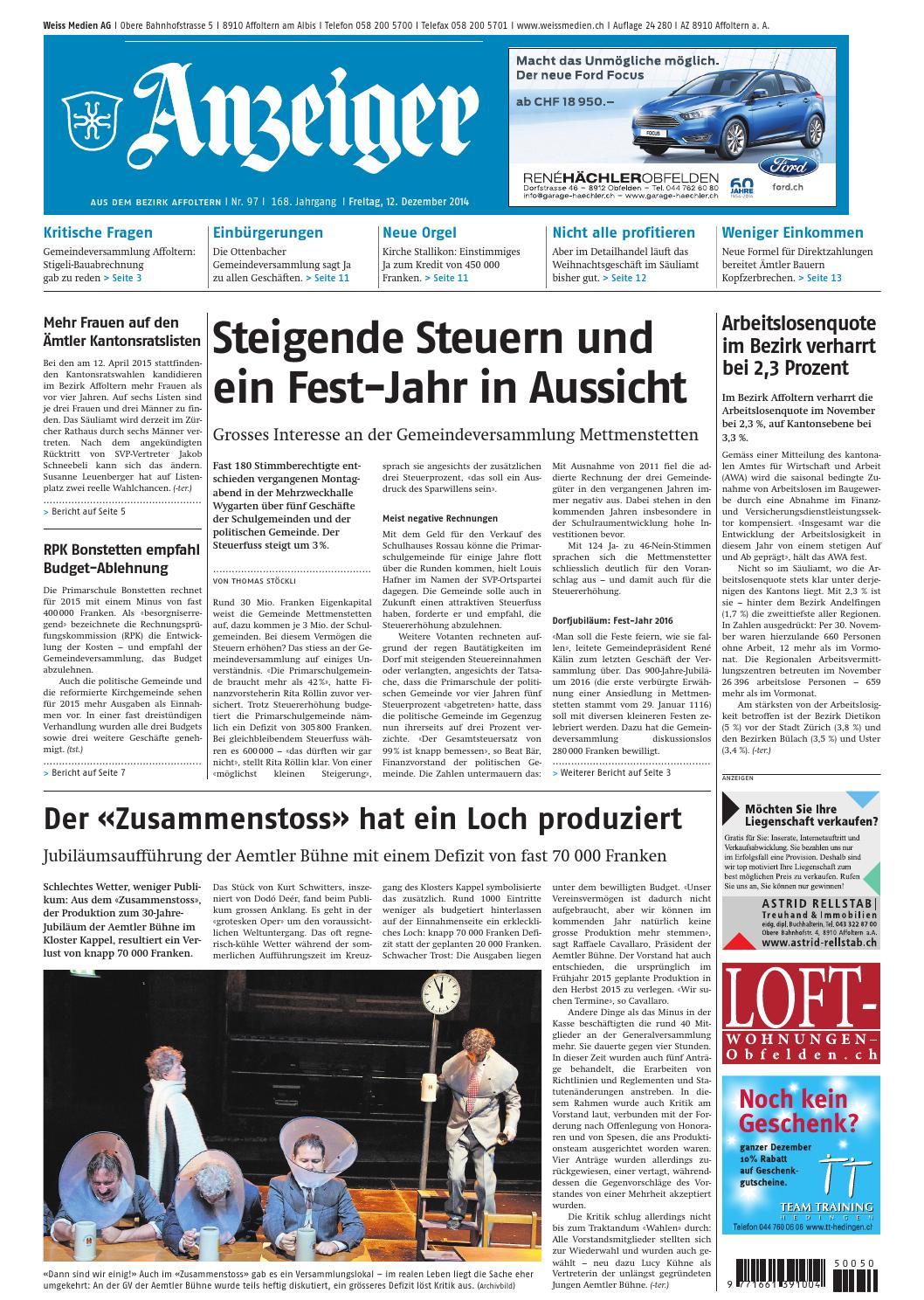 097 2014 by AZ-Anzeiger - issuu