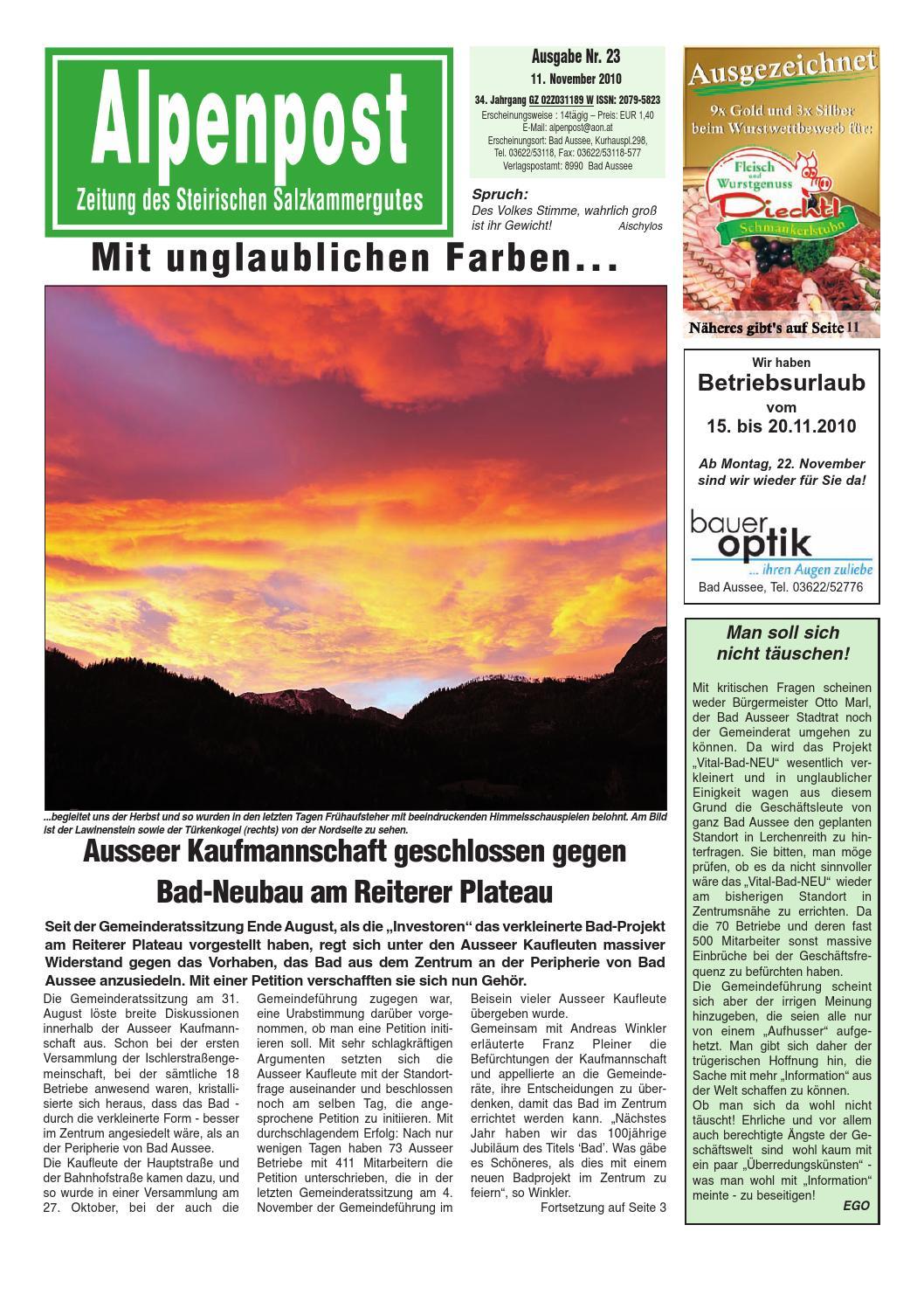 Singles Bad Mitterndorf, Kontaktanzeigen aus Bad Mitterndorf