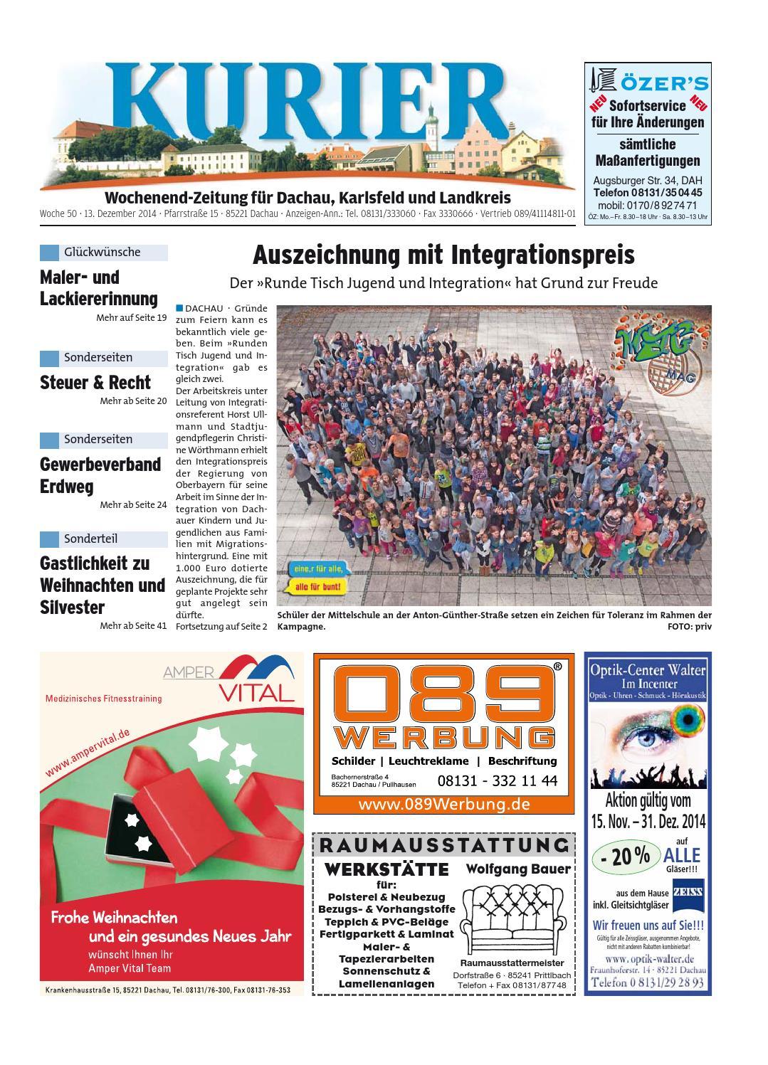 KW 50-2014 by Wochenanzeiger Medien GmbH - issuu
