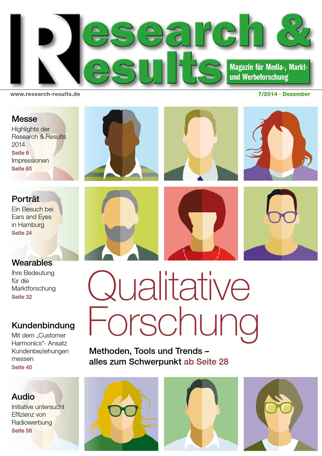 Research & Results 7/2014 by Research & Results - issuu