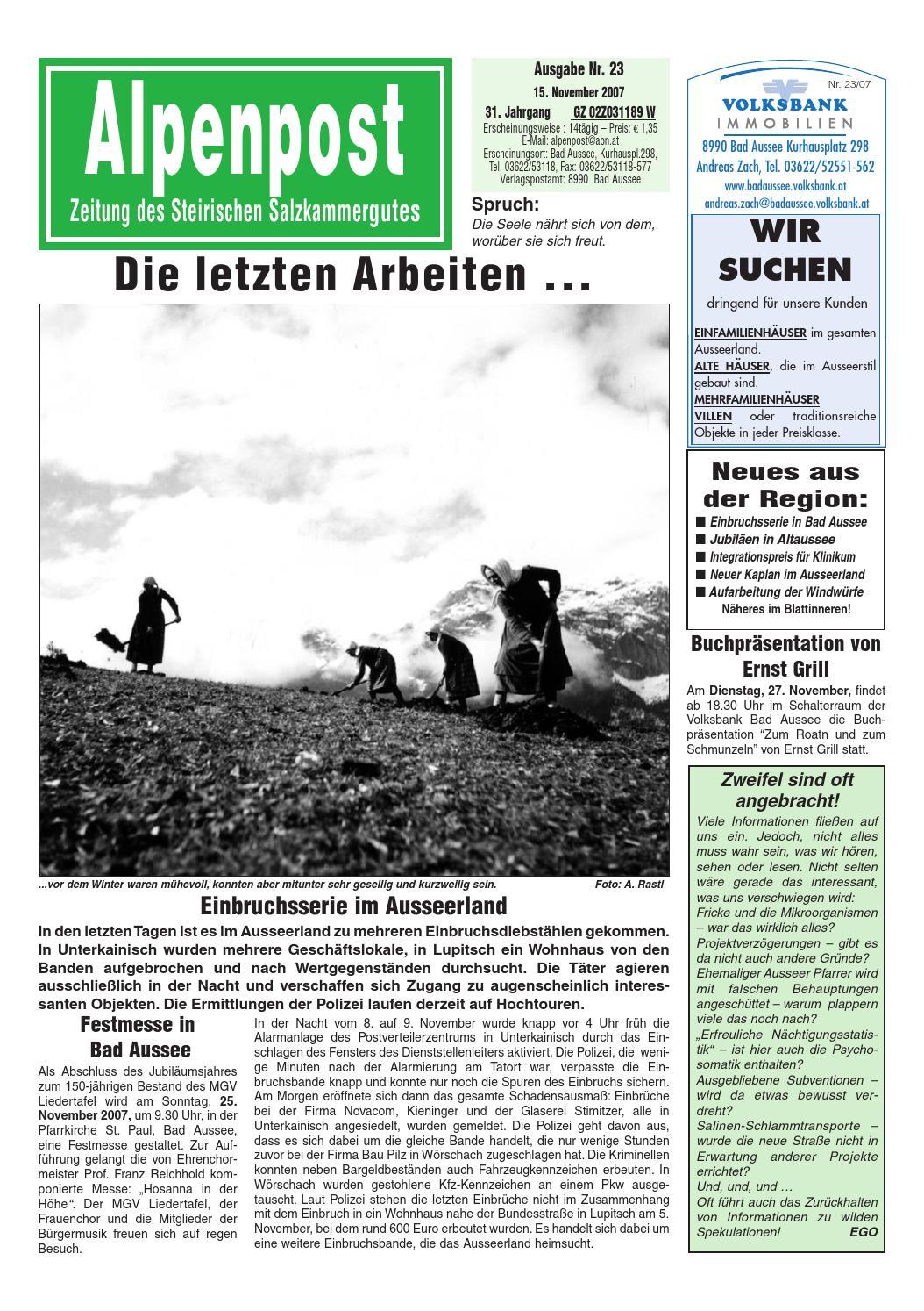 Alpenpost 23 2007 by Alpenpost Redaktion - issuu