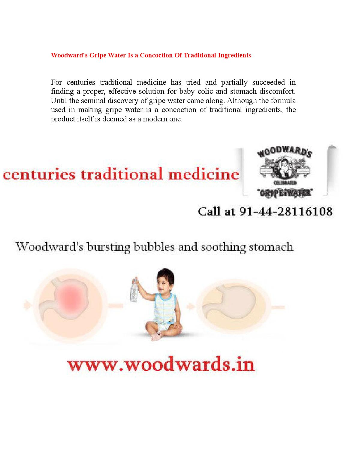 Woodwards Gripe Water Is A Concoction Of Traditional Ingredients By Albertjett Issuu