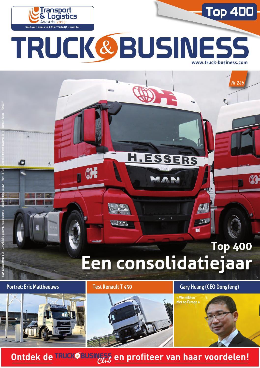 Truckbusiness 246 Nl By Mmm Business Media Issuu