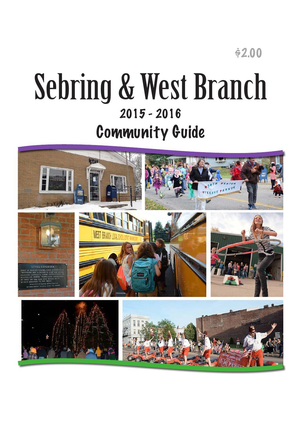 sebring west branch 2015 2016 community guide by gannett neo issuu sebring west branch 2015 2016