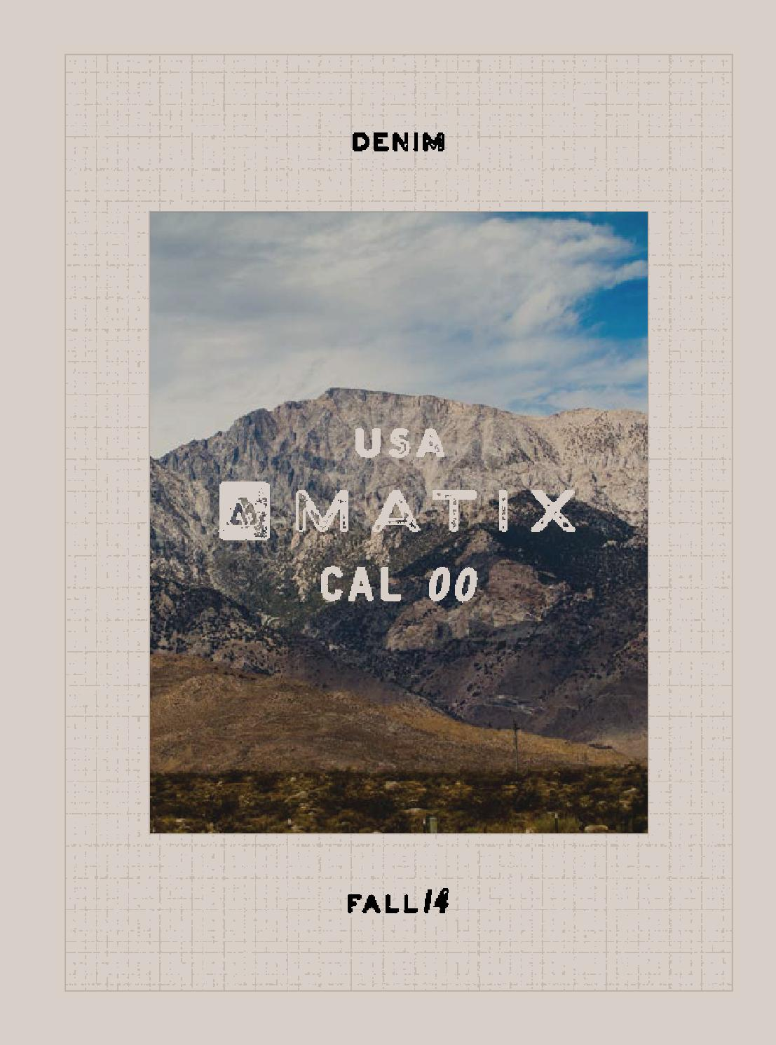 7ea8e9f98 Matix Fall 2014 US by Drop In Shop Thun - issuu