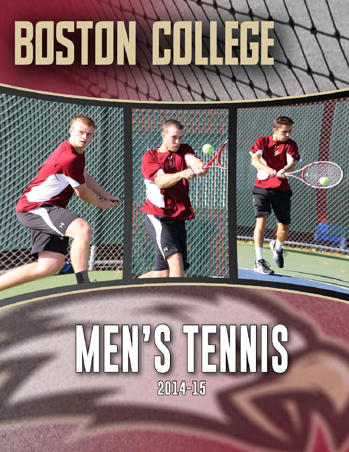 Boston College Men's Tennis Media Guide 2014-15 by ...