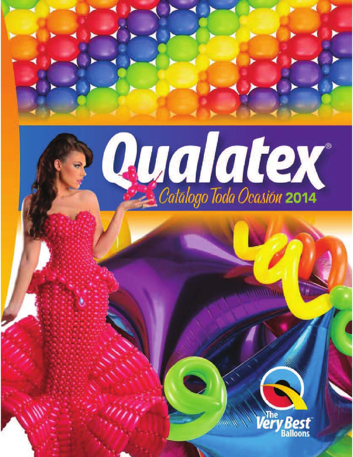 "Tropical Surtido Qualatex globos de látex de 5/"" X 100"