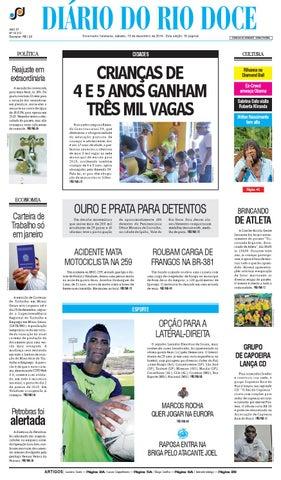 245d6ee71b13d Diário do Rio Doce - Edição de 13 12 2014 by Diário do Rio Doce - issuu