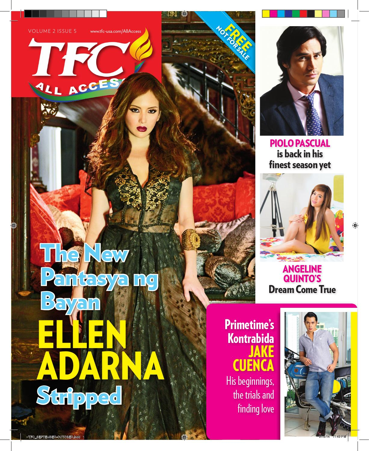 Angeline Quinto Sex Scandal tfc all access vol 2 issue 5tfc all access - issuu