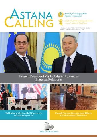 Astana calling no 384 by Kazakhstan Embassy in Mongolia - issuu