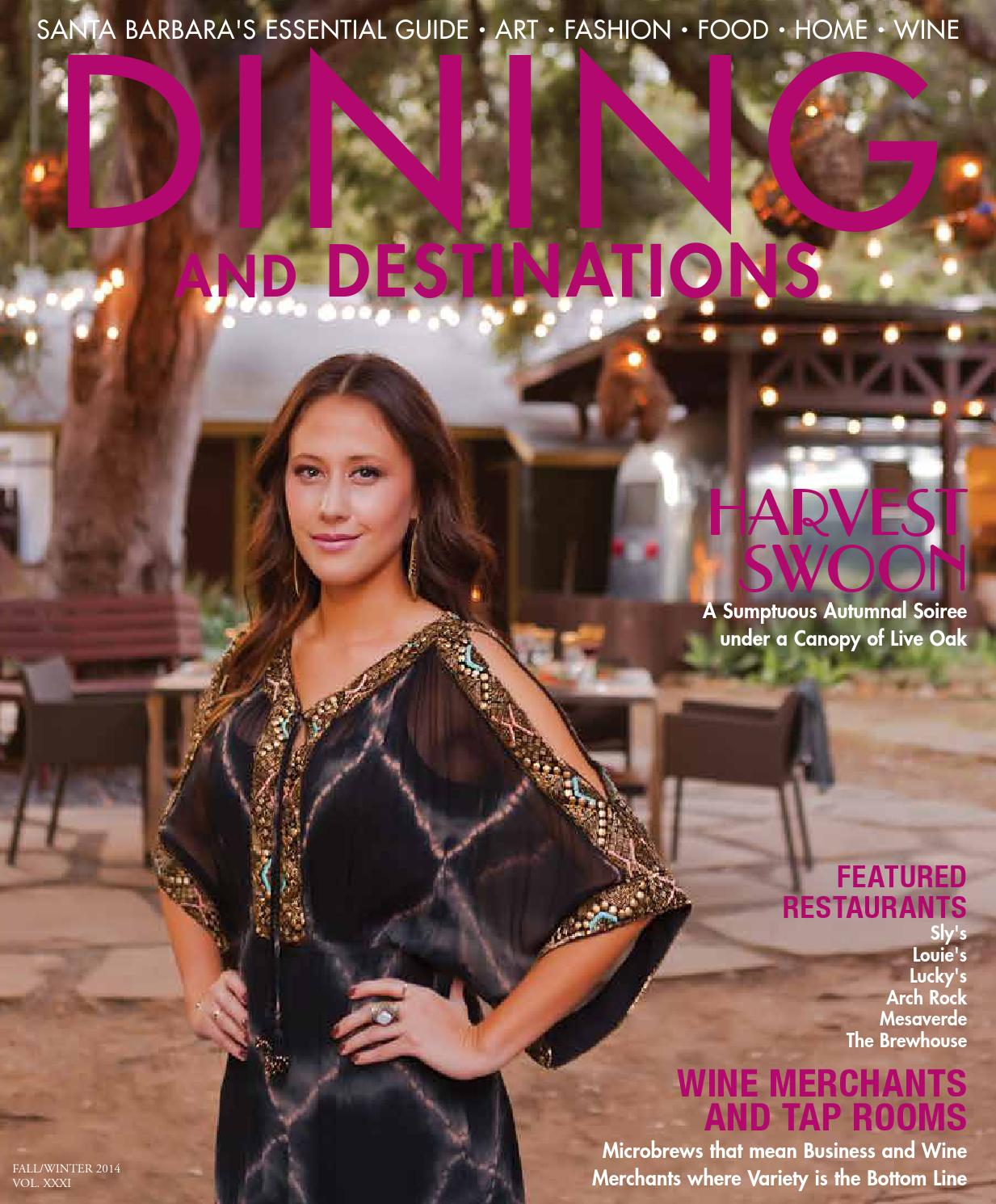 Santa Barbara Dining and Destinations Fall/Winter 2014 by Santa ...