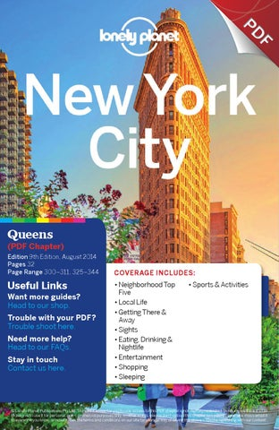Lonely planet guide to queens