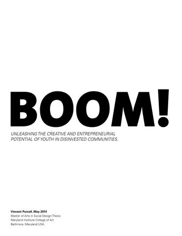 Boom By Mica Center For Social Design Issuu