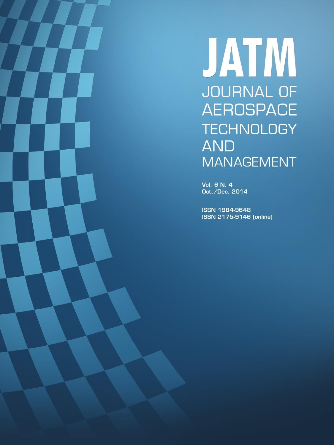 Vol. 6 N.4 - Journal of Aerospace Technology and Management by ...