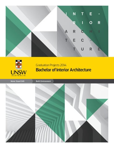 graduation projects 2014 bachelor of interior architecture by unsw