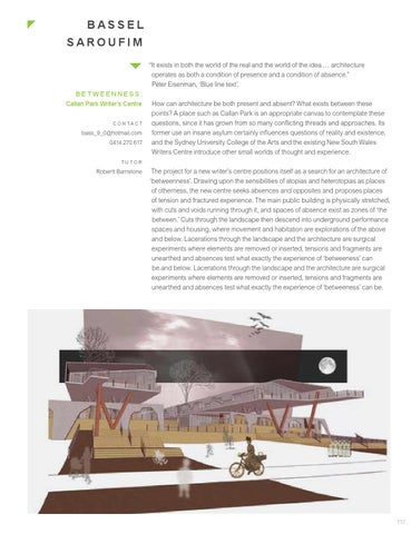graduation projects 2014 master of architecture by unsw built