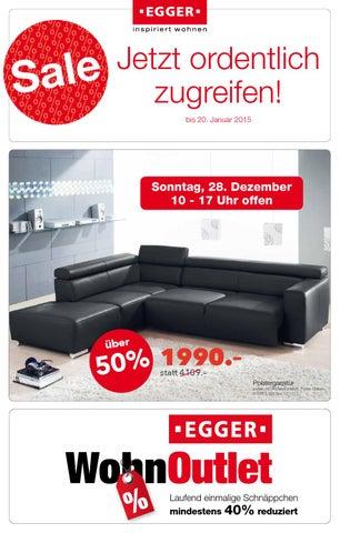 Sale Jetzt Ordentlich Zugreifen 2014121 By Möbel Egger Issuu