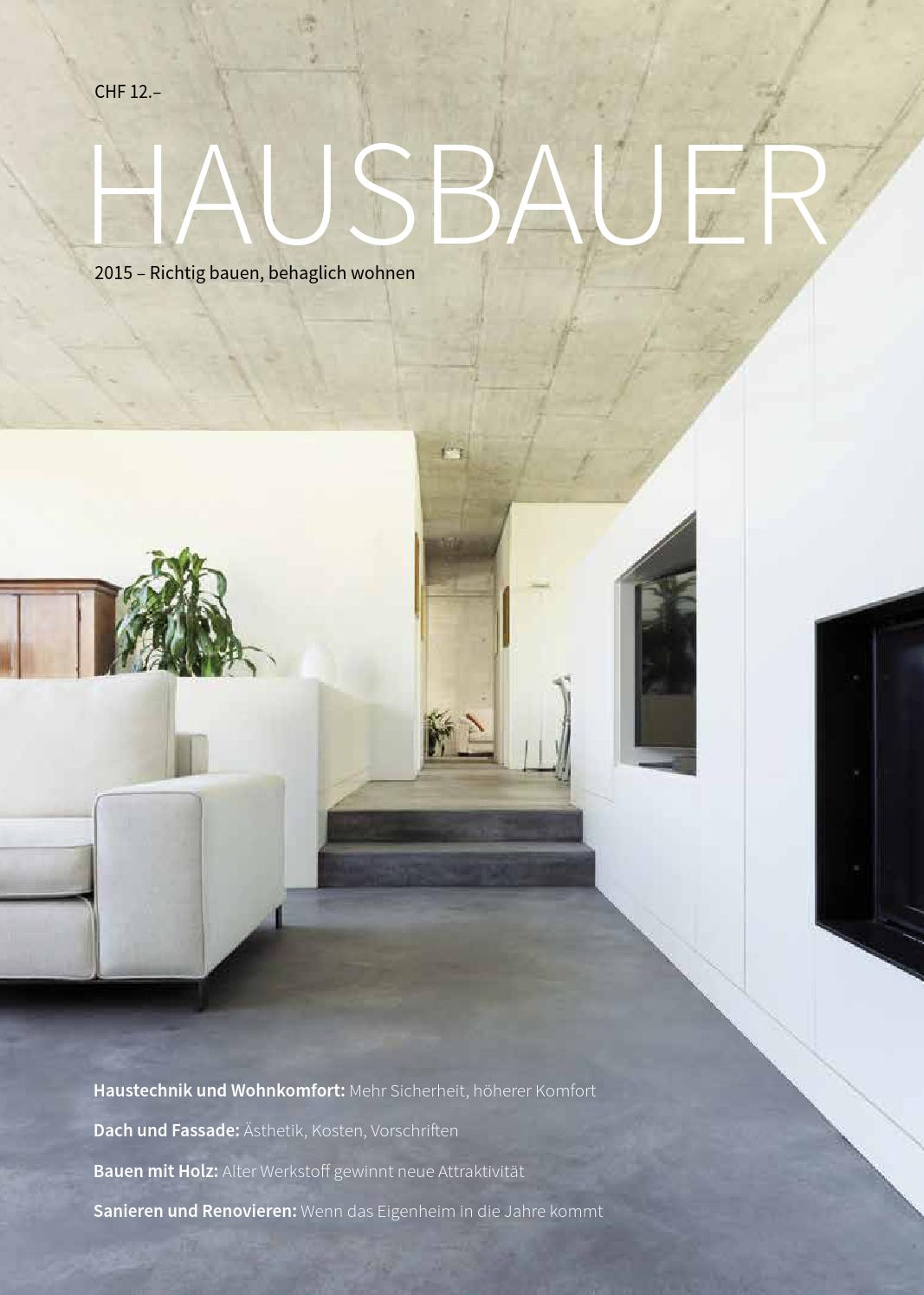 Hausbauer 2015 By MetroComm AG   Issuu
