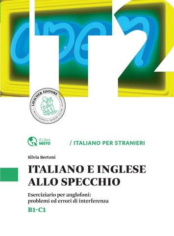 Italiano e inglese allo specchio by loescher editore issuu for A specchio in inglese