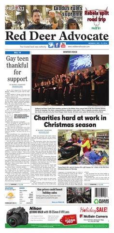Red Deer Advocate, December 15, 2014 by Black Press Media