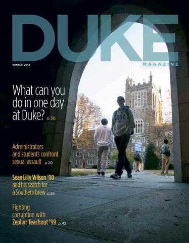 b722d3500c Winter 2014 by DukeMagazine - issuu