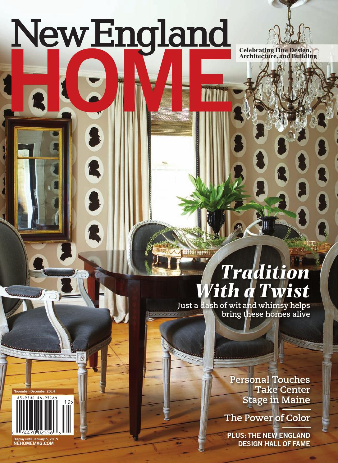 New England Home Nov Dec 2014 By Magazine LLC