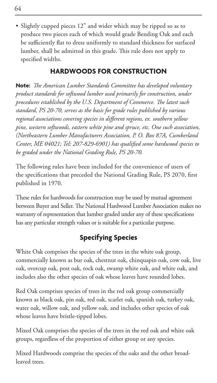 National Hardwood Lumber Association ~ Nhla rules book by national hardwood lumber