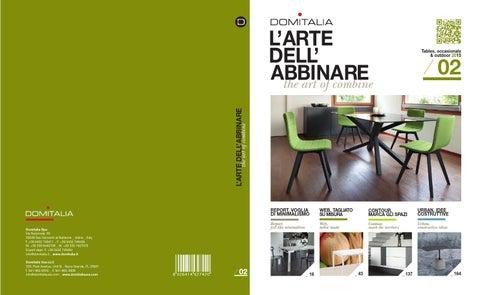 Domitalia catalog tavoli 2014 by elyse sedgwick issuu