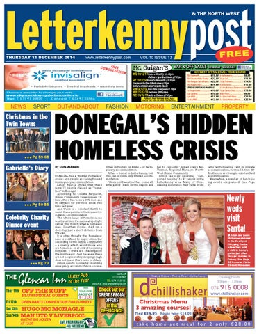 11 December Letterkenny Post By River Media Newspapers Issuu
