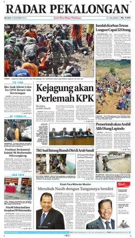 Radar pekalongan 16 desember 2014 by Radar Pekalongan - issuu 935d6e4aa9