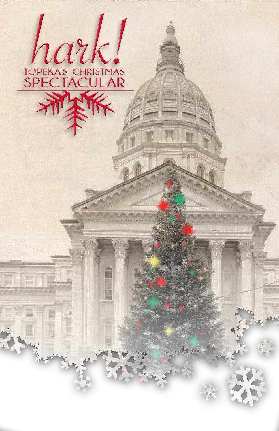 Hark Topeka 39 s Christmas Spectacular by Belock Design Issuu