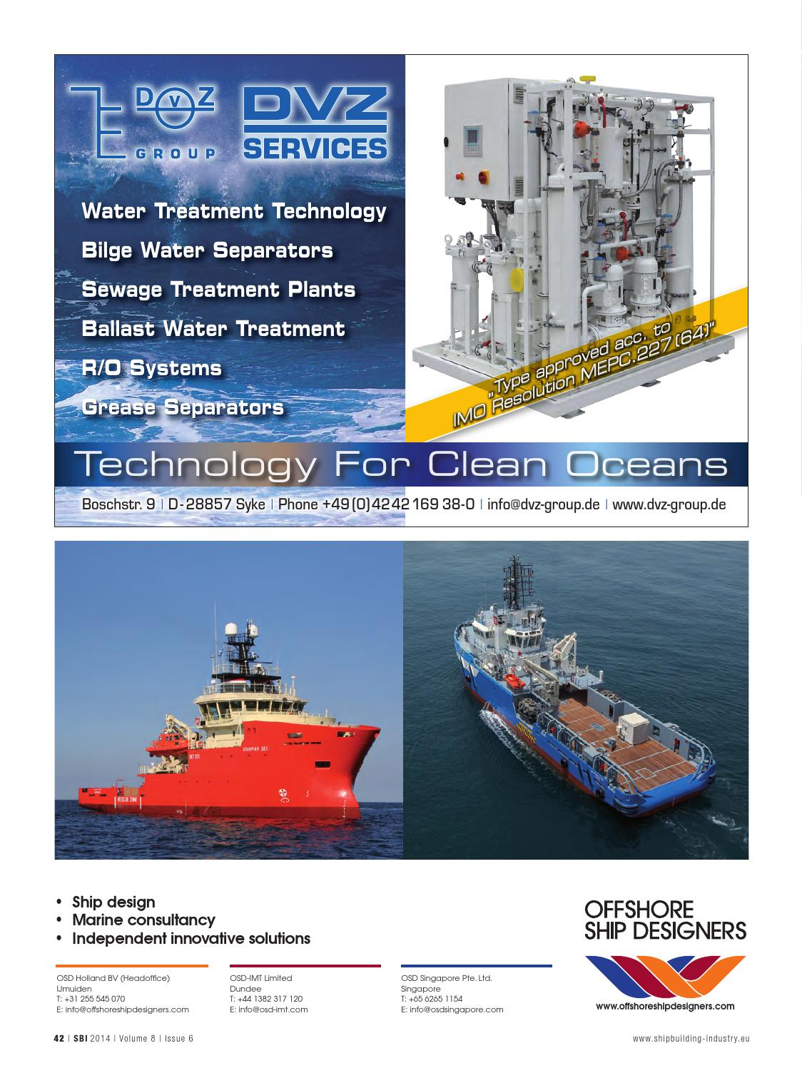 ShipBuilding Industry, Vol 8 No 6 by Yellow & Finch Publishers - issuu