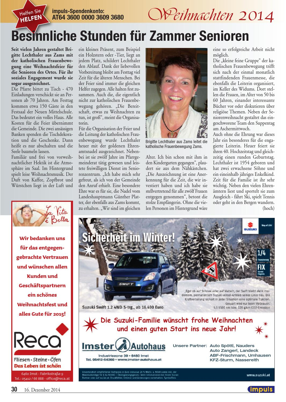 2014 21 Impuls By Westmedia Verlags Gmbh Issuu