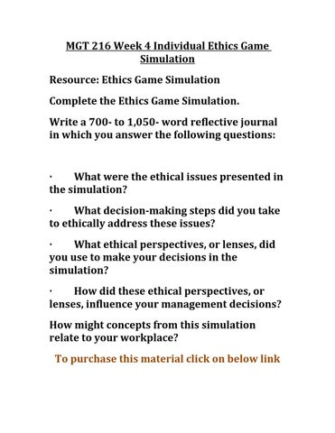 5 steps of ethical decision making