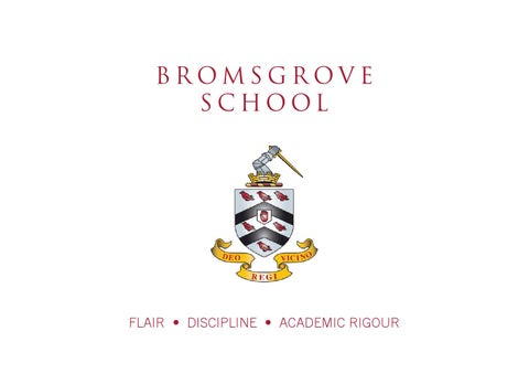 The Bromsgrovian 2014 by Bromsgrove School - issuu