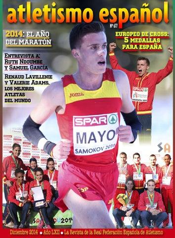 f0a95b0eba3bf 677 atletismo español diciembre 2014 by atletismo español - issuu