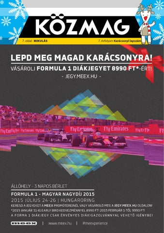 "Cover of ""2014 december budapest kozmag"""