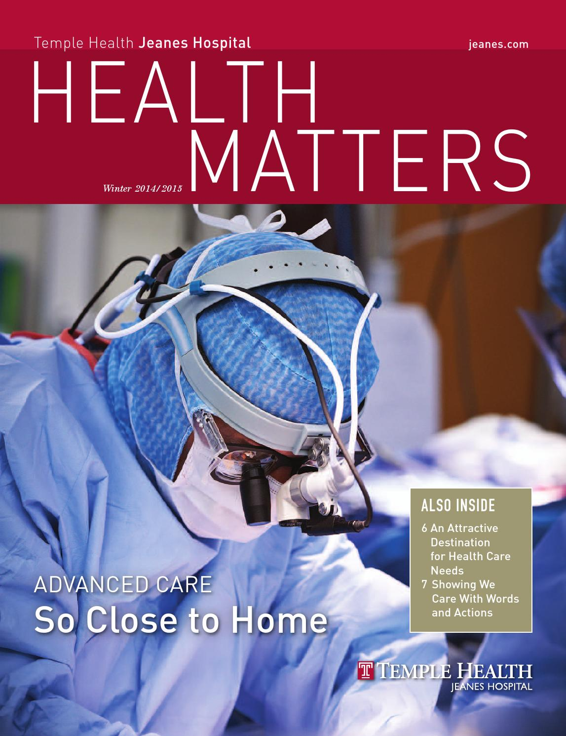2016 kenmore mercy hospital nursing annual report by catholic health matters jeanes hospital winter 20142015 issue fandeluxe Choice Image