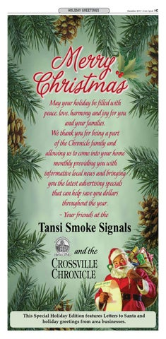 Christmas Greetings - Tansi Smoke Signals