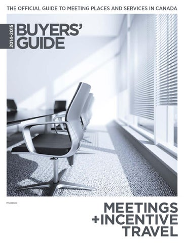 Meetings Incentive Travel 2014 2015 Buyers Guide By Annex