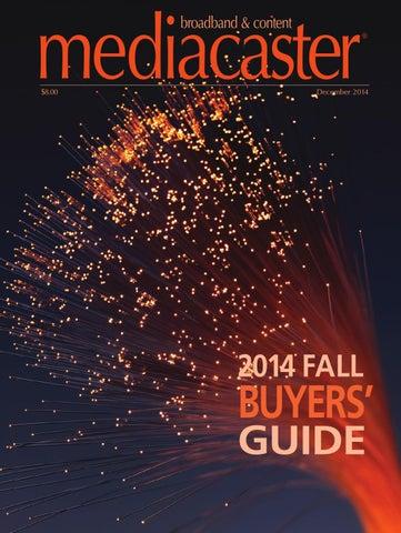 Mediacaster Magazine December 2014 By Annex Business Media Issuu