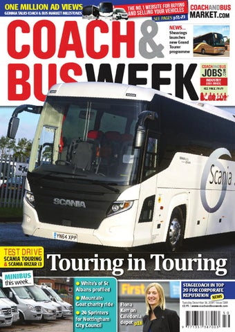 Coach & Bus Week : Issue 1168 by Coach and Bus Week & Group Travel