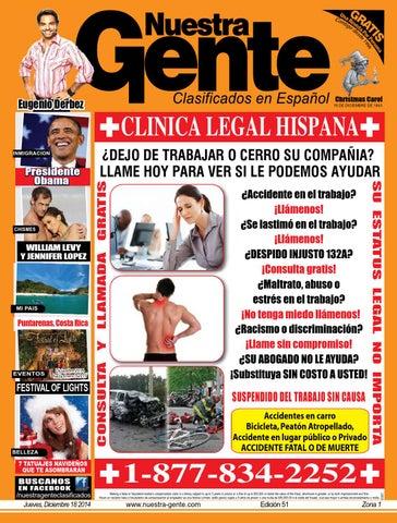 Nuestra Gente 2014 Edicion 51 Zona 1 by Nuestra Gente - issuu