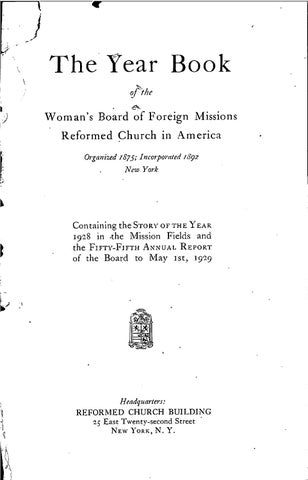 50 womans board of foreign missions rca 1934 by hope college van 50 womans board of foreign missions rca 1934 by hope college van wylen library issuu stopboris Images