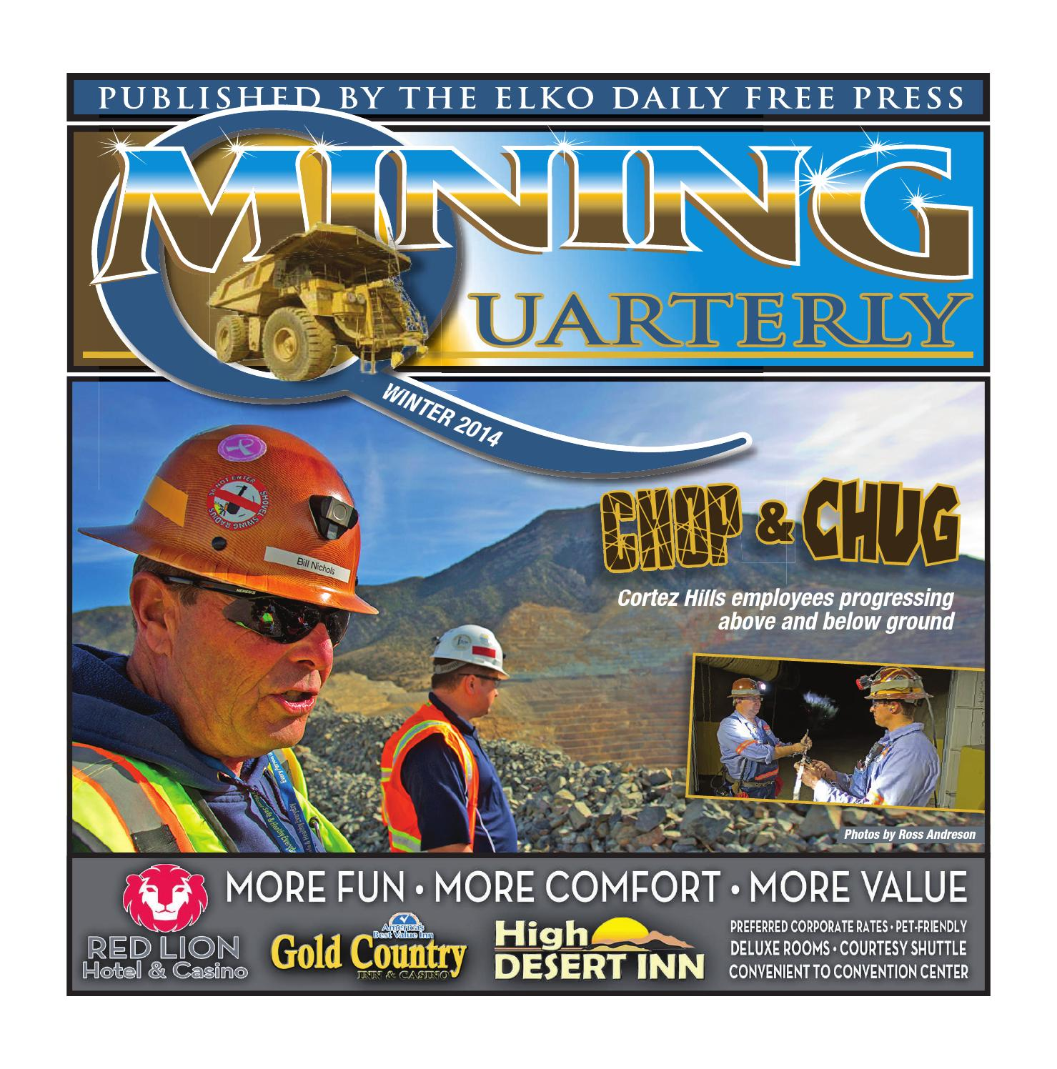 Mining Quarterly Winter 2014 edition by Elko Daily issuu