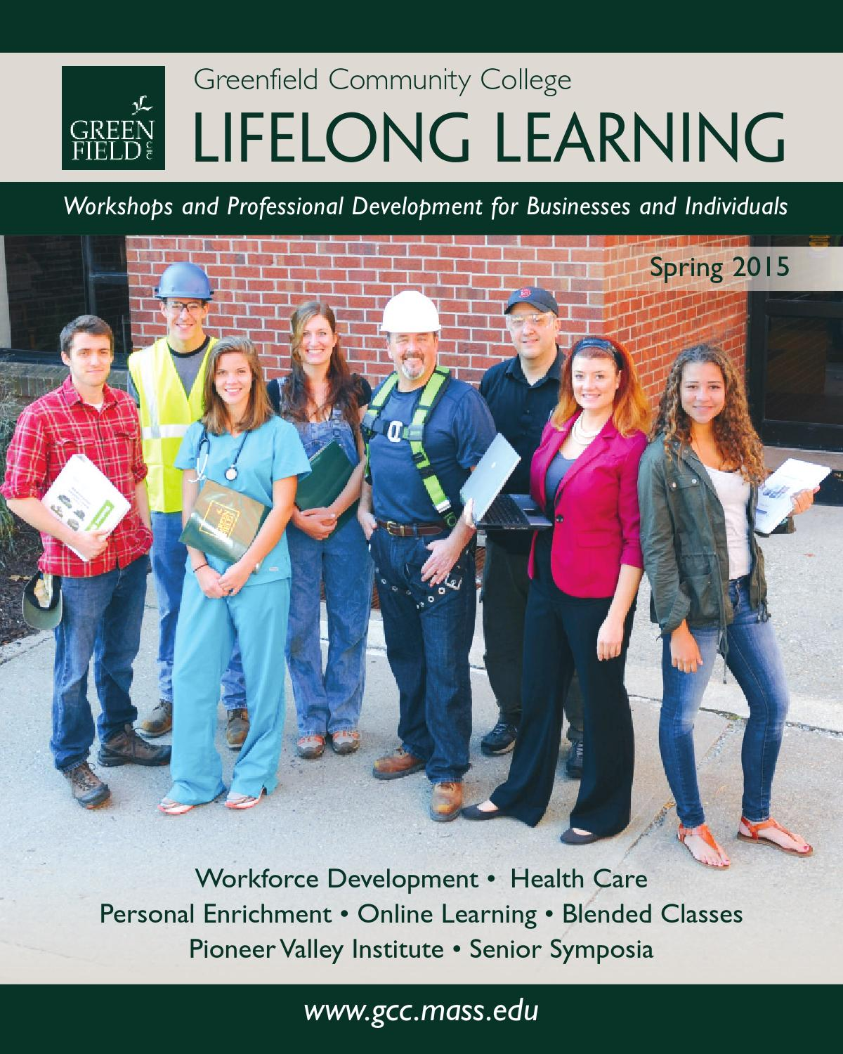 Lifelong Learning Guide Spring 2015 by Greenfield Community College ...